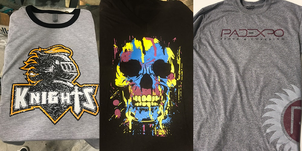 screen printed t-shirt examples
